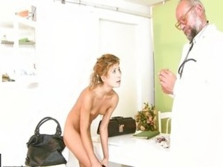 Daddy Doctor Old and Young Skinny Small Tits Teen