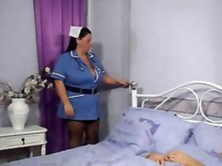 BBW Big Tits MILF Nurse Uniform