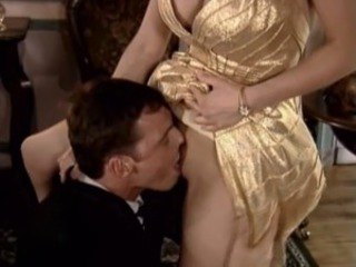 Clothed European German Licking MILF