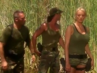 Army MILF Outdoor Pornstar Uniform