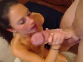 Big cock Girlfriend Handjob Webcam