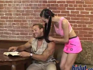 Ange is a mature MILF who licks dudes asses