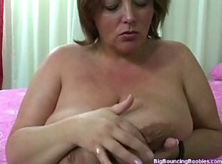 BBW Mature Natural Nipples