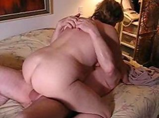 Amateur Ass Chubby Homemade Mature Older Riding Wife
