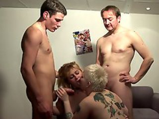 Amateur Big cock Groupsex Mature Old and Young Swingers Tattoo