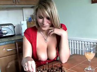 Big Tits Game Kitchen MILF Natural Nipples Voyeur