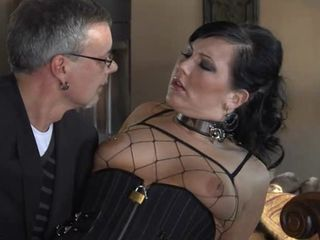 Slave wife bitch fucked hard while hubby watches