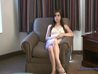 Evelyn - Audition Old Guy Creampie