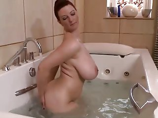 Bathroom Big Tits MILF Mom Natural