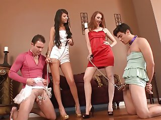 Comparing Chastity Slaves