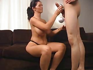 Big cock Big Tits Handjob MILF Mom Old and Young