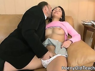 Awesome horny brunette with great body part3