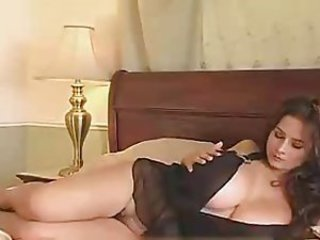 Babe Big Tits Chubby Lingerie Natural Solo
