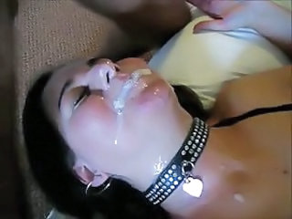 British threesome facial slit
