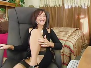 MILF Solo Stockings Webcam