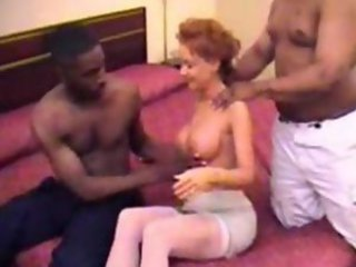 Amateur Big Tits Homemade Interracial Threesome Wife