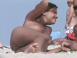 Beach Nudist Outdoor Public Teen Voyeur