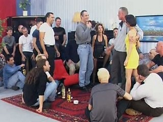 Cuckold Drunk Gangbang Party Wife