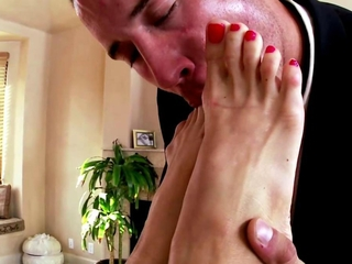 Foot babes feet coupled with pussy pounded coupled with cant get enough