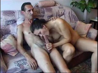 Amateur Big cock Blowjob Daddy Daughter Old and Young