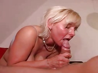 Blowjob European German MILF