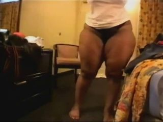 Amateur BBW Dancing Ebony Homemade