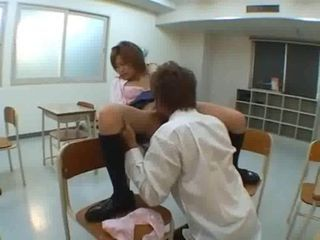 Asian Clothed Licking School Student Teen