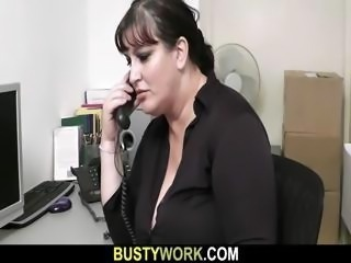 Chubby MILF Office Secretary