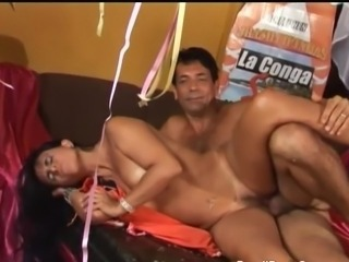 Brazilian Latina MILF Party