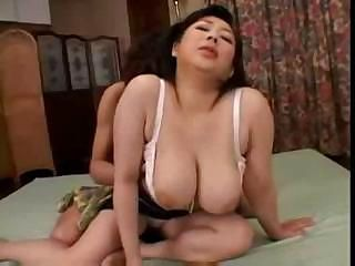Asian Big Tits Japanese MILF Mom Natural Old and Young