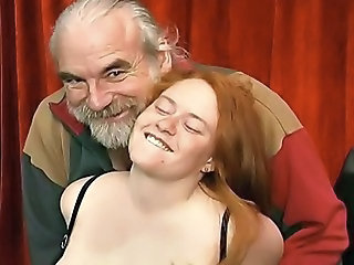 Daddy Daughter Old and Young