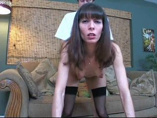 Doggystyle MILF Mom Stockings