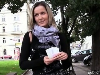 Amateur Cash European Outdoor Pov Public Teen