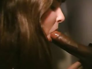 Big cock Blowjob Gloryhole Interracial MILF