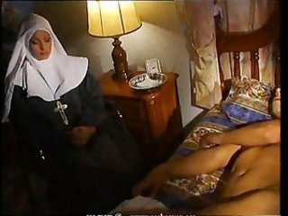 MILF Nun Sleeping Uniform Vintage