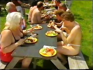 Amateur Outdoor Party Swingers