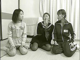Three cum-hungry Japanese sisters SDDM-068