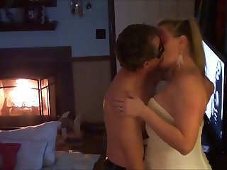 Wife Becky Gets An Anniversary Surprise (Husband Films)