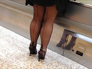 New seamed stockings from AXA22
