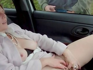 dogging flashing in pantyhose