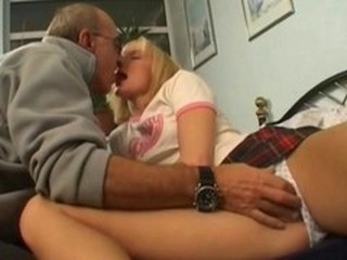 Daddy Daughter Old and Young Student Teen