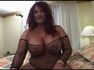 Big Tits Chubby Fishnet Latina MILF Piercing