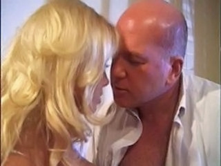 Blonde Daddy Daughter Old and Young