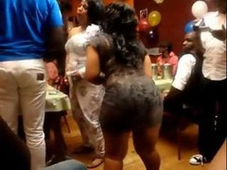 Ass BBW Dancing Ebony Party Swingers