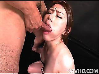 China Mimura Is Bound And Toyed While Blindfolded Before