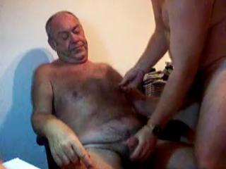 Daddy being played with