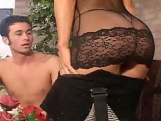 Amazing Ass Lingerie Mom Old and Young Stripper