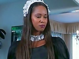 Ebony Maid MILF Uniform