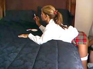 Amateur Clothed Doggystyle Girlfriend Homemade Smoking Student Uniform