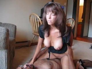 Big Tits Interracial MILF Natural Nipples Riding SaggyTits